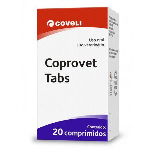 COPROVET TABS COM 20 COMPRIMIDOS