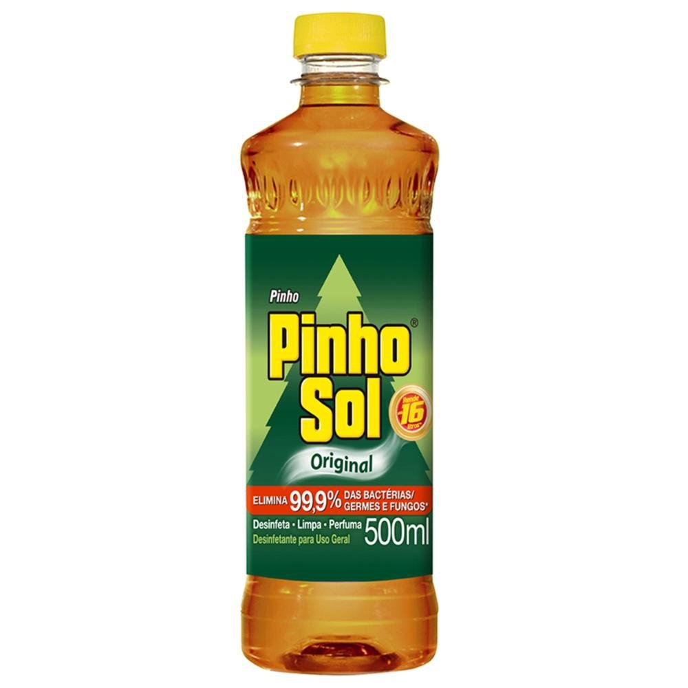 DESINFETANTE PINHO SANOL ORIGINAL 500 ML