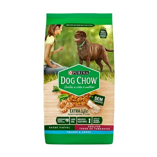 DOG CHOW ADULTO FRANGO & ARROZ
