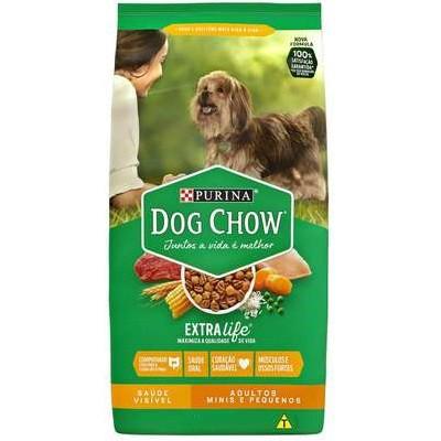 DOG CHOW ADULTO RAÇAS PEQUENAS