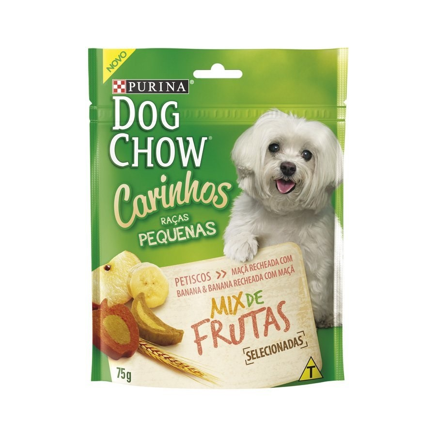 DOG CHOW PETISCO MIX FRUTAS PEQUENOS 75 g