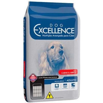 DOG EXCELLENCE ADULTO RAÇAS MÉDIAS CARNE