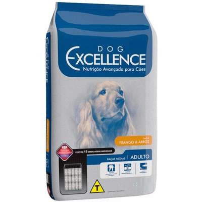 DOG EXCELLENCE ADULTO RAÇAS MÉDIAS FRANGO