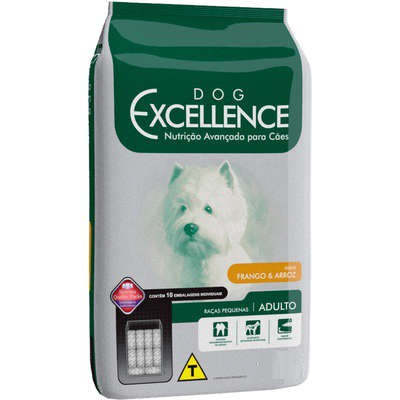 DOG EXCELLENCE ADULTO RAÇAS PEQUENAS FRANGO