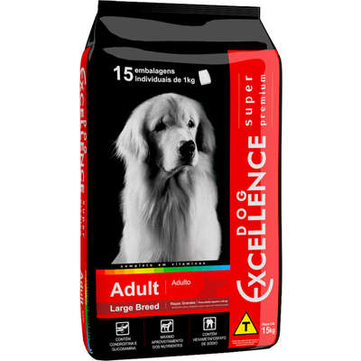 DOG EXCELLENCE S PREMIUM ADULTO LARGE 15 Kg