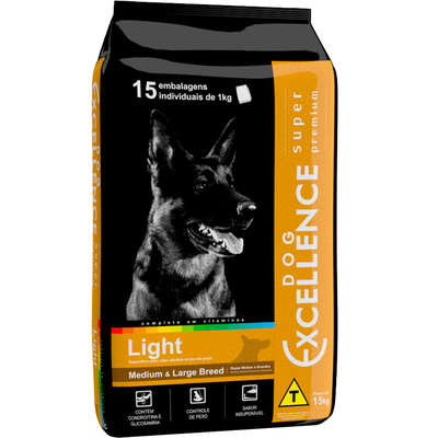DOG EXCELLENCE S PREMIUM LIGHT LARGE 15 Kg