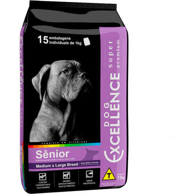 DOG EXCELLENCE S PREMIUM SENIOR LARGE 15 Kg