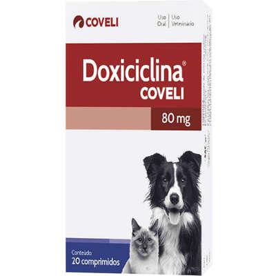 DOXICICLINA COM 20 COMPRIMIDOS