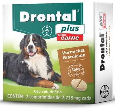 DRONTAL PLUS 35 Kg 2 COMPRIMIDOS