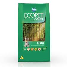 ECOPET NATURAL LIGHT SMALL BITES 3Kg