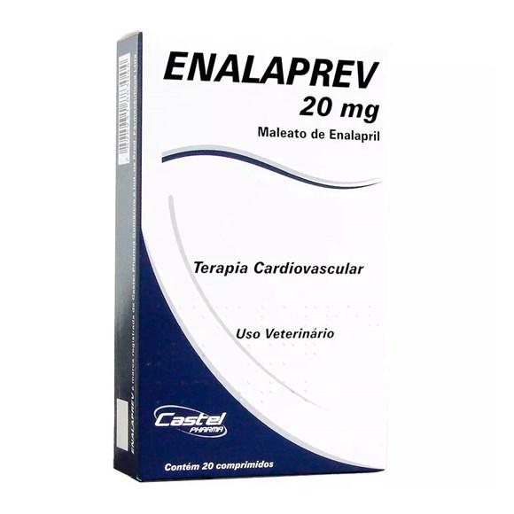 ENALAPREV 20 mg COM 20 COMPRIMIDOS