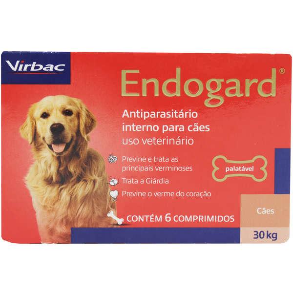 ENDOGARD 30 Kg 6 COMPRIMIDOS