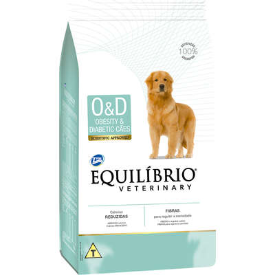EQUILÍBRIO VETERINARY DOG OBESITY&DIABETIC