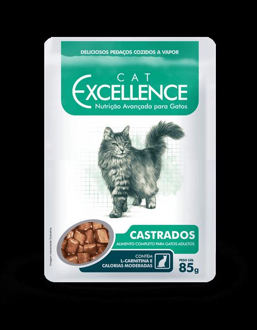 EXCELLENCE SACHÊ CAT CASTRADOS 85 g