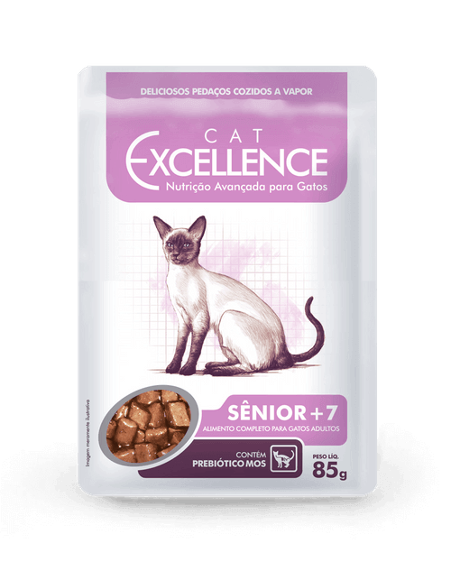 EXCELLENCE SACHÊ CAT SÊNIOR + 7 85 g