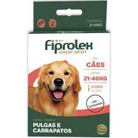 FIPROLEX CÃES 21 a 40 kg