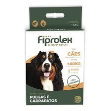 FIPROLEX CÃES 40 kg ACIMA