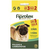 FIPROLEX COMBO ATÉ 10 Kg