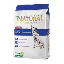 FÓRMULA NATURAL SENSITIVE MÉDIO E GRANDE 14 Kg