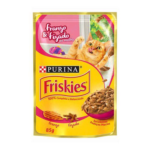 FRISKIES SACHÊ FRANGO & FÍGADO 85 g