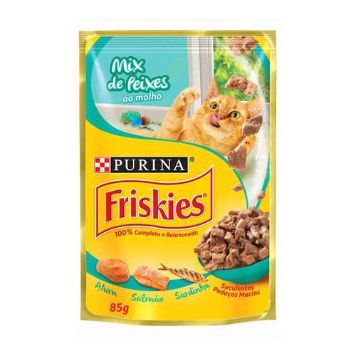 FRISKIES SACHÊ MIX DE PEIXES 85 g