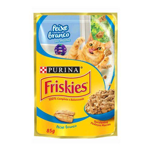 FRISKIES SACHÊ PEIXE BRANCO 85 g