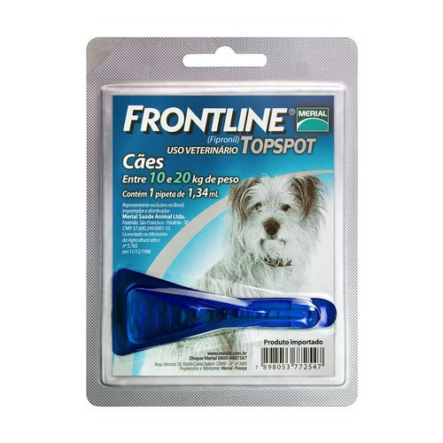 FRONTLINE TOPSPOT 10 A 20 Kg
