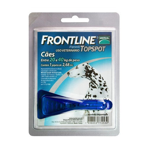 FRONTLINE TOPSPOT 20 A 40 Kg