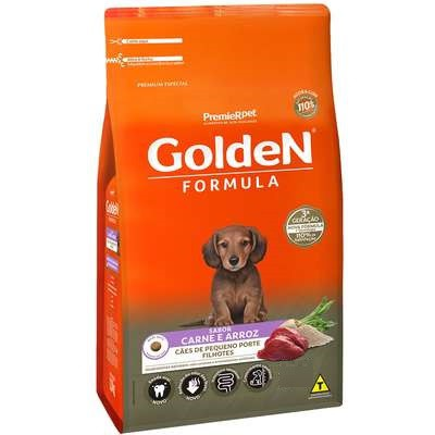 GOLDEN FILHOTE CARNE MINI BITS