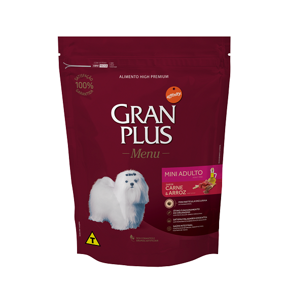 GRAN PLUS CÃO CARNE MINI