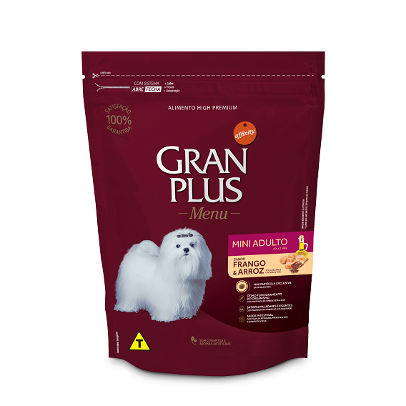 GRAN PLUS CÃO FRANGO MINI