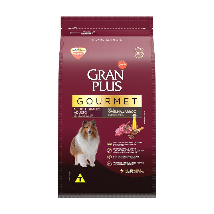 GRAN PLUS CÃO OVELHA ARROZ