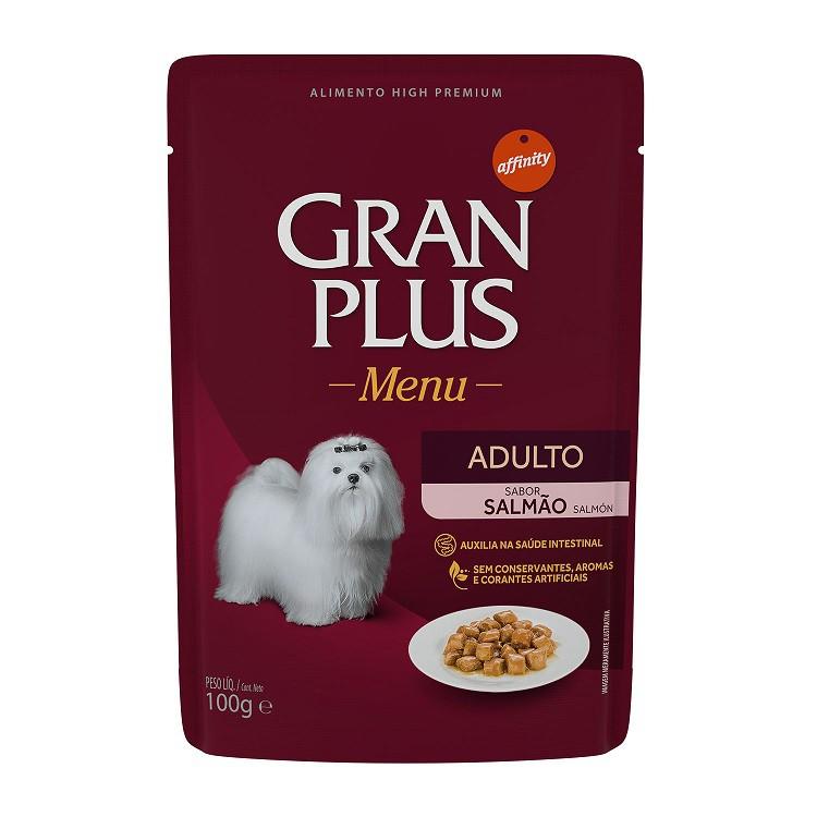 GRAN PLUS SACHÊ CÃO SALMÃO 100 g