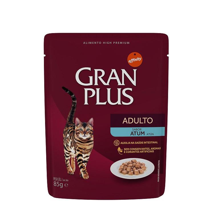 GRAN PLUS SACHÊ GATO ATUM 85 g