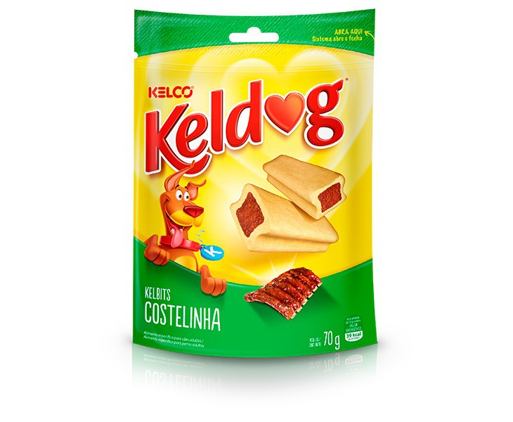 KELDOG KELBITS COSTELINHA 70g