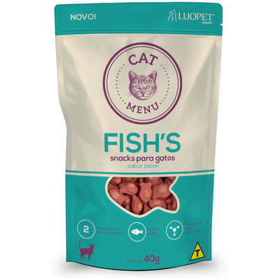 LUOPET CAT MENU FISH'S 40 g