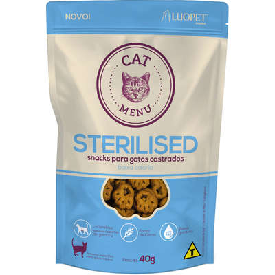 LUOPET CAT STERILISED 40 g