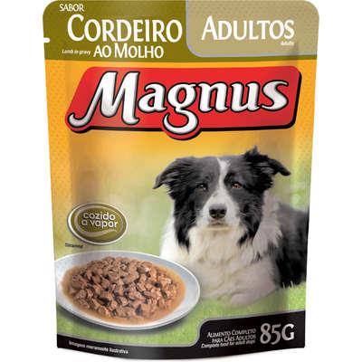 MAGNUS SACHÊ CÃO CORDEIRO 85 g
