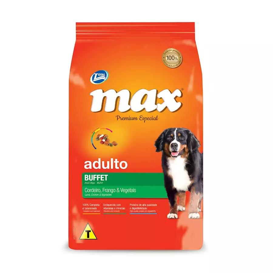 MAX ADULTO BUFFET CORDEIRO,FRANGO & VEGETAIS