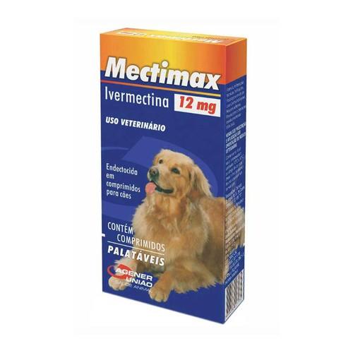 MECTIMAX 12mg COM 30 COMPRIMIDOS