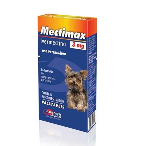 MECTIMAX 3mg 20 COMPRIMIDOS