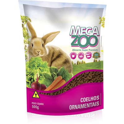 MEGAZOO COELHOS ORNAMENTAIS 500 g