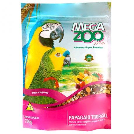 MEGAZOO MIX PAPAGAIO TROPICAL 700 g