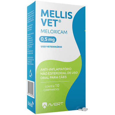 MELLIS VET 0,5 mg 10 COMPRIMIDOS