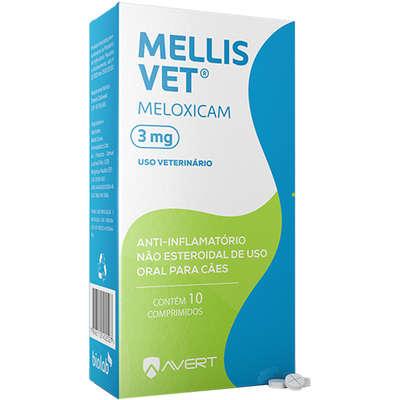 MELLIS VET 3,0 mg 10 COMPRIMIDOS