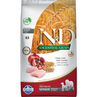 ND ANCESTRAL SENIOR FRANGO MEDIUM E MAXI
