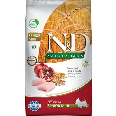 ND ANCESTRAL SENIOR FRANGO MINI 800 g
