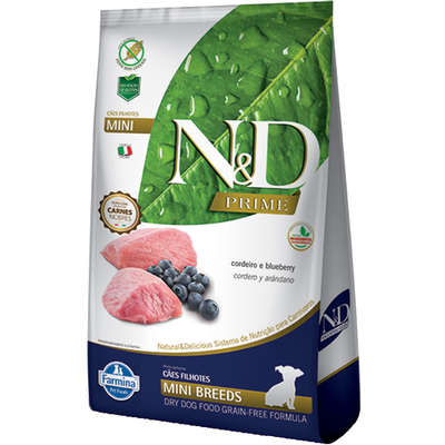 ND PRIME PUPPY CORDEIRO MINI 2,5 Kg