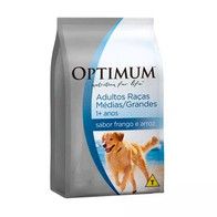 OPTIMUM DOG ADULTO RAÇAS MÉDIAS E GRANDES FRANGO