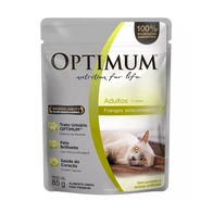 OPTIMUM SACHÊ CAT FRANGO 85 g